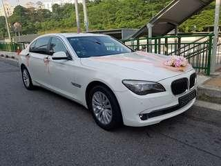 Wedding / Bridal / ROM Car Rental (with driver)