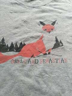 Belle and Sebastian band shirt