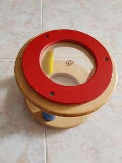 Little wooden drum