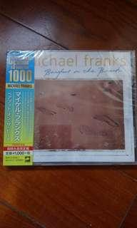全新 日版 經典爵士jazz Michael Franks Barefoot on the beach CD
