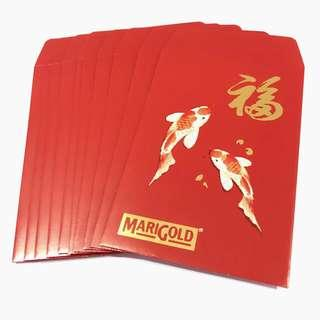 MariGold Red Packets (1 Set)