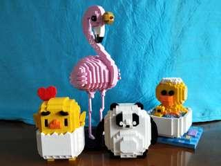 Loz building blocks lego