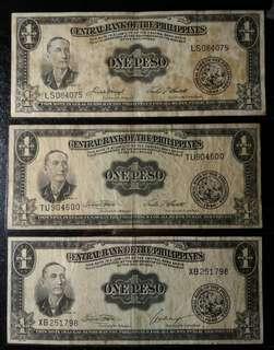 1 Peso - English Series - Set 1