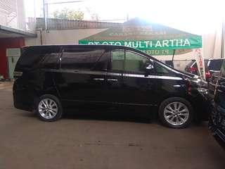 Toyota vellfore z audioless matic 2010