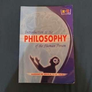Introduction to the Philosophy of the Human Person