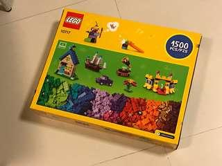 LEGO Classic 1500 pieces Extra Large Stone Box (10717) Classic Building Toy for Children