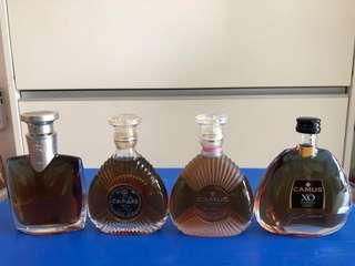 Camus Luxury Miniature 50ml - 4 bottles