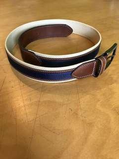 Navy blue marine belt
