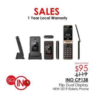 SG INO Cp138 Elderly 3G Flip Phone