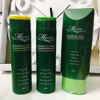 Marine Essence Body Wash, Shampoo & Conditioner