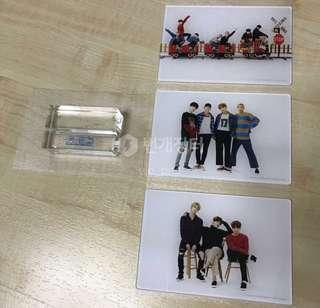 BTS japan fan meeting acrylic standees set