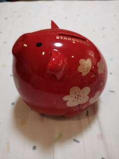 Starbucks Year of the Pig Coin bank 2019
