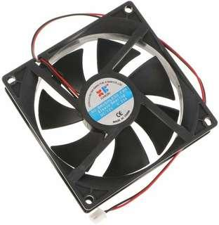 U. Homyl Cooler Sleeve Bearing 90mm Silent Fan for Computer Cases and CPU Coolers