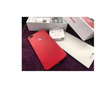 iPhone 7plus 128gb Factory unlocked Red PRUDOCT