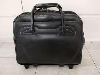 Black Willowbrook detachable wheeled bag