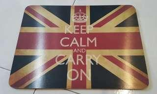 50% off original keep calm carry on big coaster deco