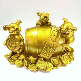 Carlsberg Golden Pig CNY 2007 Coin Bank