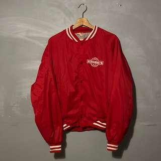 VINTAGE TEGS RUSELLS BAR COACH WINDBREAKER