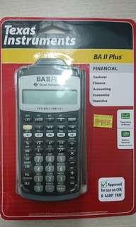 Ba II Plus - Texas Instrument, Calculator