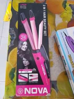 Nova 2 in 1 hair beauty set
