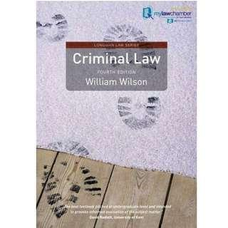Criminal Law: Doctrine and Theory  (4th Ed.)