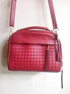 Slingbag Red #maups4