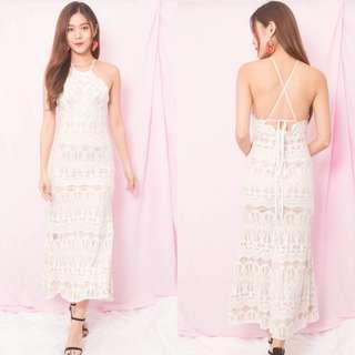 [PO] Annabellie Crochet Maxi Dress
