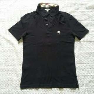 Polo Shirt Black [Burberry Ori]