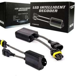 H7 and HB3 LED Intelligent Decoder - CASH&CARRY