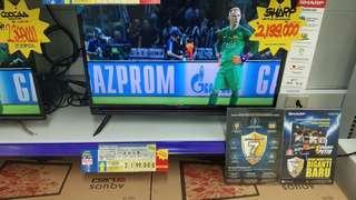 "Sharp Led Tv 32"" Promo Kredit Proses Cepat Free 1x Angsuran"