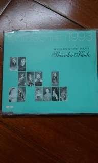日版 工藤靜香 1990-1993 millennium best cd