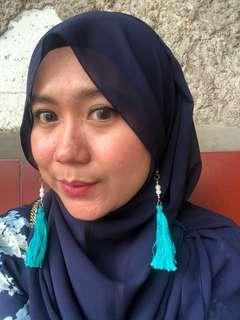 #bersihbersih Anting Tassel Tosca