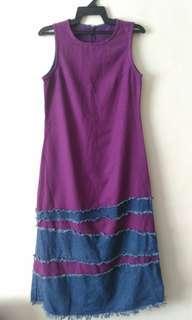 Long Dress Sleveless #MFEB20