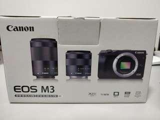 Canon EOS M3 mirrorless dslr camera