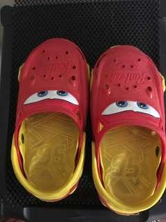 Lighting Mcqueen Cars Red Shoes