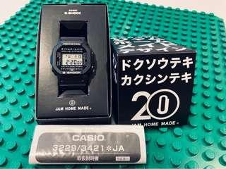 Japan Exclusive JDM Casio G-Shock x Jam Home Made 20th Anniversary Limited Edition Collaboration DW5600 Katakana Watch