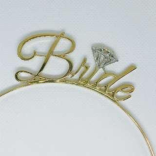 Bride 鑽石頭飾