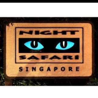 night safari $20