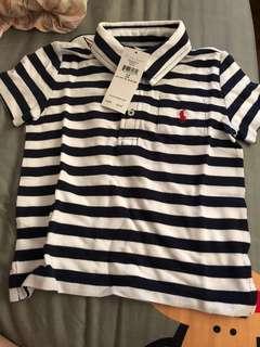 BNWT Ralph Lauren polo stripe (24m)
