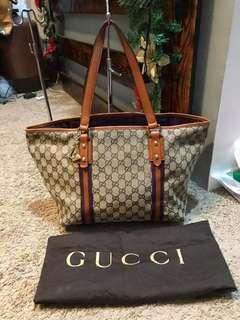 Gucci tote auth