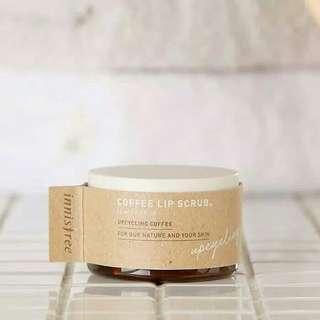 Innisfree coffee lip scrub