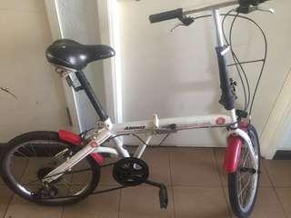 Aleoca limited edition SG-50 foldable bicycle