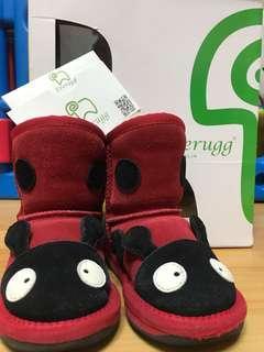 🚚 Everugg UGG 兒童瓢蟲雪靴 15公分