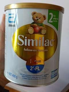 New tin Similac Stage 2 400g (or trade with Dumex mamil gold stage 2)