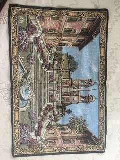 Piazza di Spagna Roma Embroidery (Home Display)