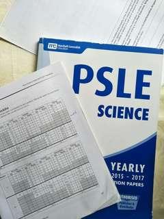 PSLE SCIENCE BOOKS