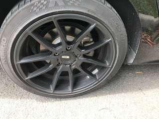 Volkswagen Jetta sport rim