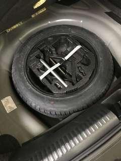 Volkswagen Jetta spare wheel