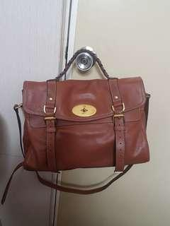Mulberry Brown Alexa Bag Good Used Condition