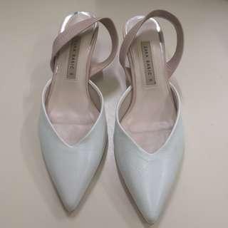 Zara Basic Kitten Heels